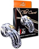 The Curve Male Chastity Device, Clear