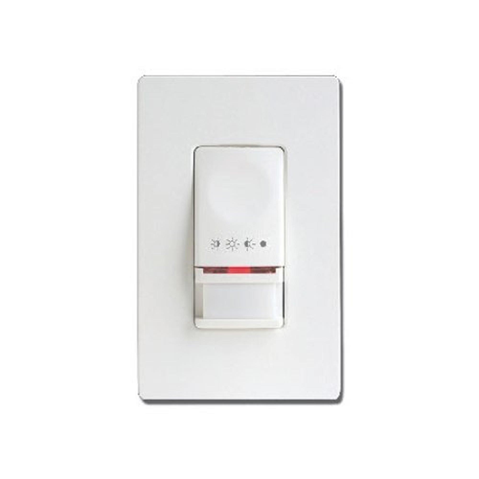 Cooper Controls OSW-P-0451-MV-W Greengate 120-277-Volt Single-Level PIR Wall Switch Sensor, White Finish