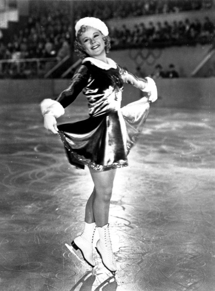 Image result for sonja henie skating