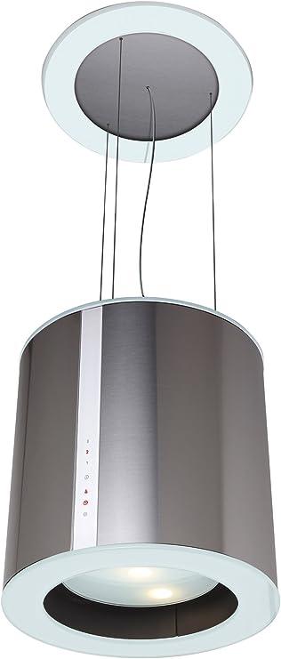 CATA Modelo ISLA MOON extracción | campana extractora cocina 645m3/h-300m3/h | Acabado en acero inoxidable | [Clase de eficiencia energética C], 3 Velocidades: Amazon.es: Grandes electrodomésticos