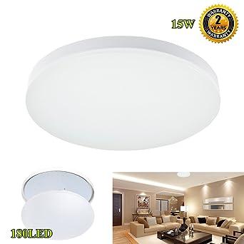 SG LED 1299Inch Flush Mount Ceiling Light 15W 10501200lm 5000k