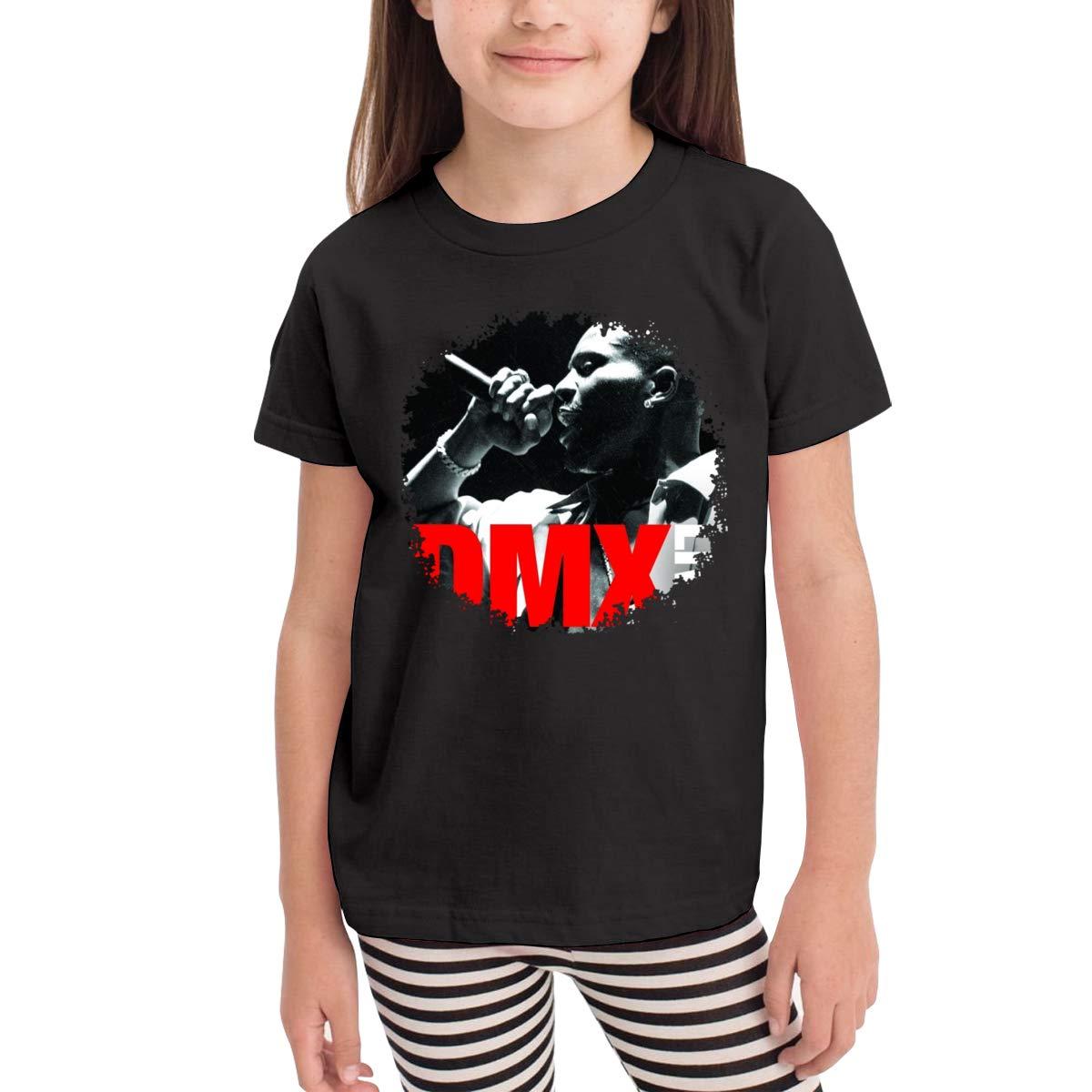 WYeter DMX Live Childrens Comfort Short Sleeve T-Shirt Black
