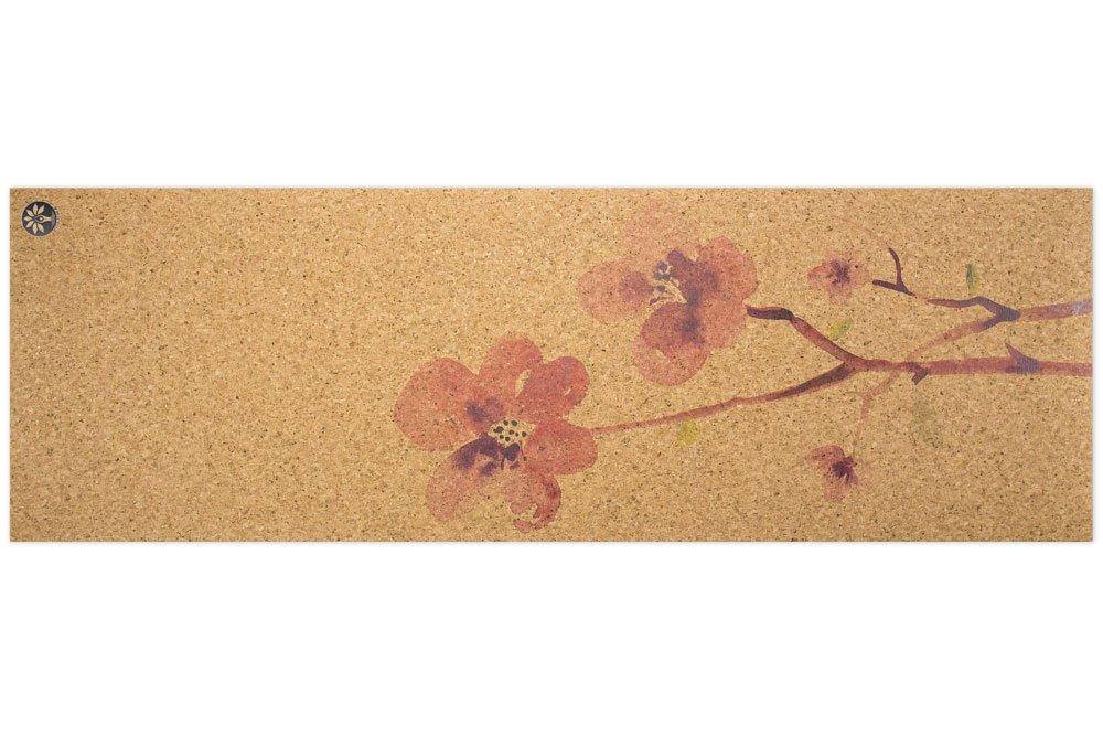 Blossom Nomad Cork Yoga Mat - Yoloha Artist Collection by Yoloha Yoga