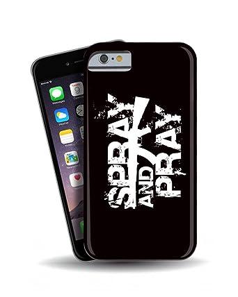 TeeDemon Carcasa para iPhone 6, diseño de Spray y Pray con ...