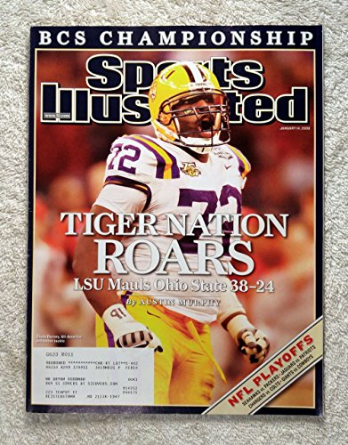 [Glenn Dorsey - LSU Tigers - 2007 National Champions! - Sports Illustrated - January 14, 2008 - Ohio State Buckeyes - College Football - SI] (2007 College Football Champion)
