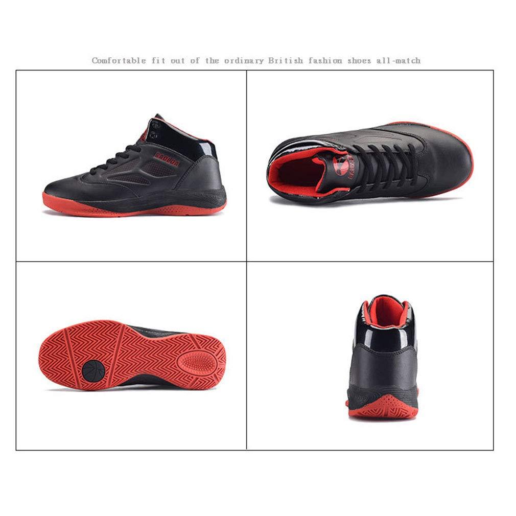 YAN Unisex Sportschuhe, Mode Turnschuhe Turnschuhe Turnschuhe Breathable Freizeitschuhe Eltern-Kind-Schuhe Basketball Schuhe Lace Up Laufschuhe (Farbe   B, Größe   41) B07JJD56S3 Basketballschuhe Jugend überschwemmen 77fbd8