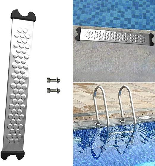 CatcherMy Pedal de Escalera mecánica de Piscina Acero Inoxidable 304 Anticorrosión Reemplazar Escalera de Escalera mecánica de Piscina Pedal de escalón subacuático: Amazon.es: Jardín