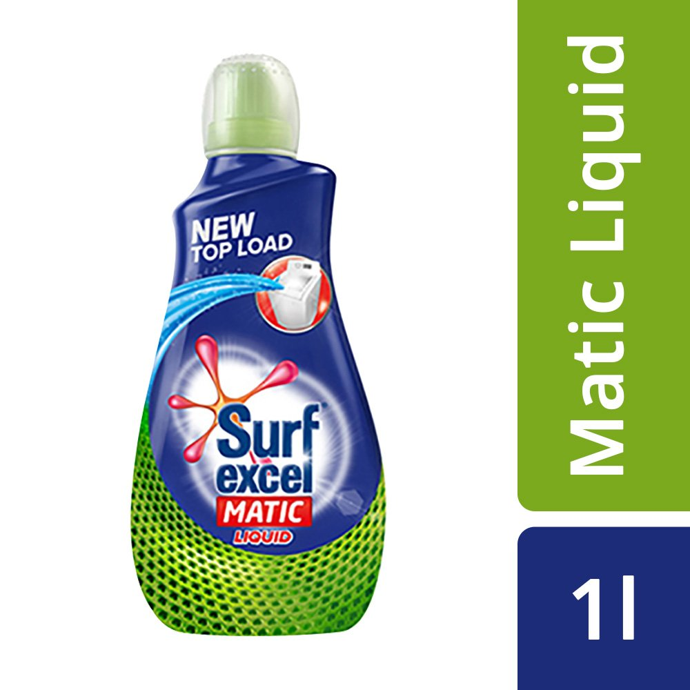 [Apply coupon] Surf Excel Matic Top Load Liquid Detergent - 1.02L