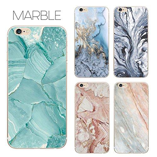 Coque iPhone 6 Plus 6s Plus Housse étui-Case Transparent Liquid Crystal marbre en TPU Silicone Clair,Protection Ultra Mince Premium,Coque Prime pour iPhone 6 Plus 6s Plus-style 13