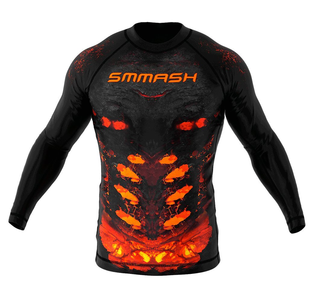 Image of SMMASH Long Sleeve Rashguard DIABLO