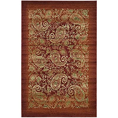 Safavieh Lyndhurst Collection LNH224A Traditional Paisley Beige and Multi Area Rug