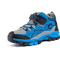 Botas de Senderismo Niños Zapatos NieveInvierno Forradas Cálidas