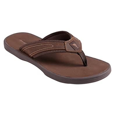 f7e3bd7e3 Image Unavailable. Image not available for. Color  Tommy Bahama Men s  Seawell Dark Brown Sandal ...
