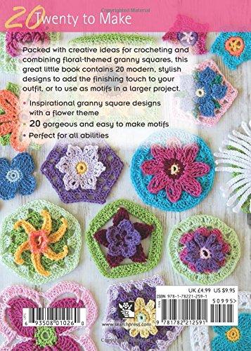 Granny Square Flowers (Twenty to Make)