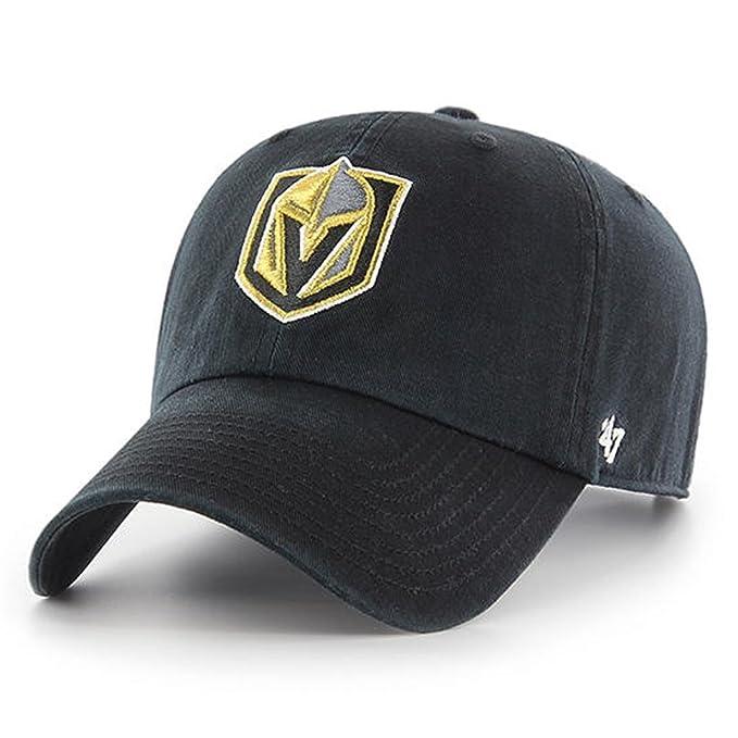2f88c8aac6f Amazon.com    47 NHL Las Vegas Golden Knights Clean Up Adjustable ...