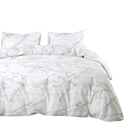 04a7a4d9fa8d Amazon.com  Wake In Cloud - Marble Comforter Set