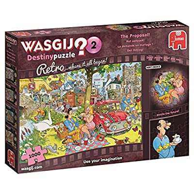 Wasgij 19155 Destiny Retro 2 La Proposta Puzzle