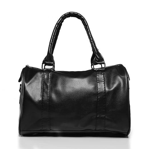 7ad70a50a265 ANDI ROSE Ladies Designer PU Leather Tote Handbags Purses Shoulder Clutch  Hobo Bag (Black 1426)  Amazon.co.uk  Clothing