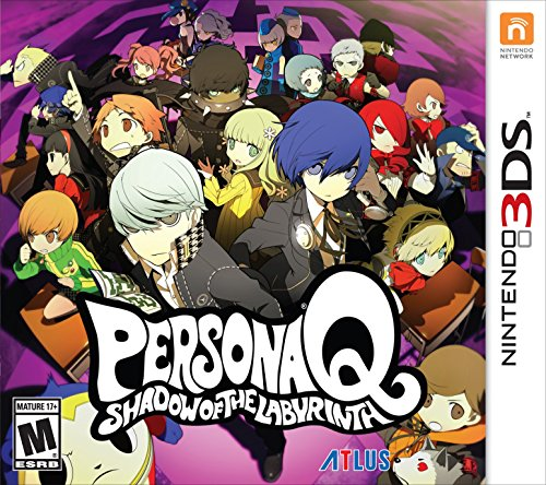 Persona Q: Shadow of the Labyrinth - Nintendo 3DS Standard Edition -