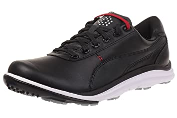 Amazon.com  Puma BioDrive Leather Men Golfschuhe Golf 188337 01 ... d36ab67e3af8e