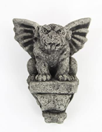 Hanging Small Gargoyle Concrete Wall Statue Cement Igor French Gargoyle Sculpture  Garden Cast Stone European Figure