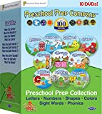 Preschool Prep Series Collection - 10 DVD Boxed Set (Meet the Letters, Meet the Numbers, Meet the Shapes, Meet the Colors, Meet the Sight Words 1, 2 & 3, Meet the Phonics - Letter Sounds, Digraphs & Blends Image