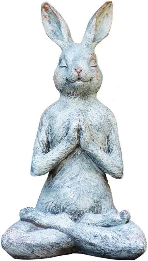 Nwn 樹脂のウサギの屋外の庭の彫像、動物の彫刻
