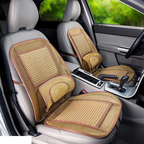Rattan Cover Cool (JXHD Summer Car Seat Icy Breathable Bamboo Cushion Rattan Cushion)