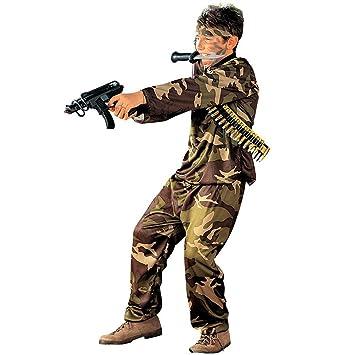 Army Kostüm Soldat Kinderkostüm Armee Soldatenkostüm Kinder Fasching