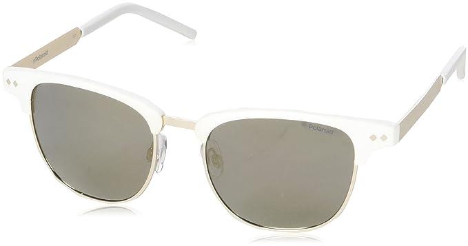Polaroid PLD 1027 S LM Yoa 51, Montures de lunettes Mixte Adulte, Blanc ffa1541adc5a