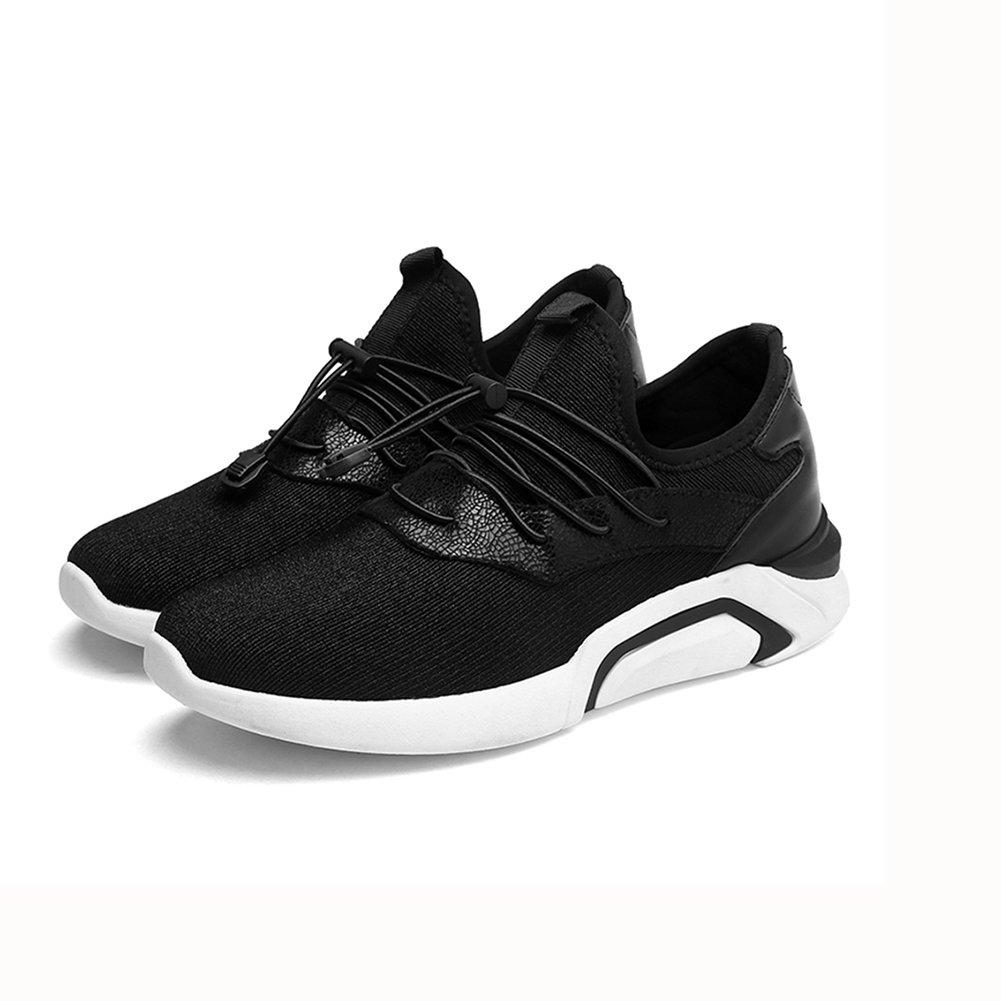 YIXINY Schuhe Mode Herrenschuhe Leinwand Freizeit Atmungsaktiv Jugend ( Farbe : Schwarz , größe : EU42/UK8.5/CN43 )