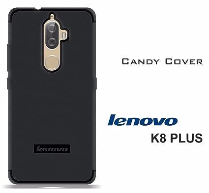 new arrivals 24337 36dcf LOFAD CASE Back Cover for Lenovo K8 Plus Black