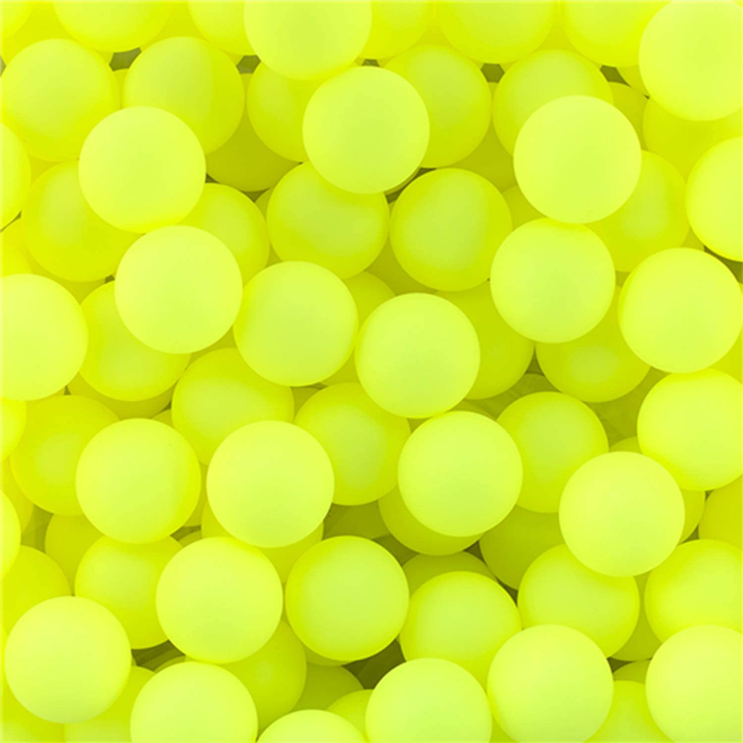 100 Pack Beer Ping Pong Balls Assorted Colors 40mm PP Plastic For Training Games