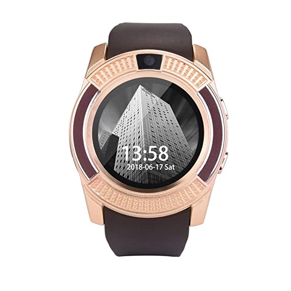 STRIR Bluetooth Smartwatch, Classic Ronda de IPS Pantalla Táctil ...