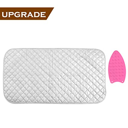 Charmant Ironing Mat, Portable Travel Ironing Blanket, Thickened Heat Resistant Ironing  Pad Cover For Washer