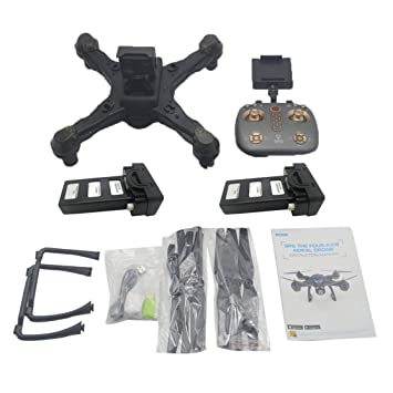 LouiseEvel215 Drone Dual GPS WiFi FPV Drone con cámara 4K Control ...