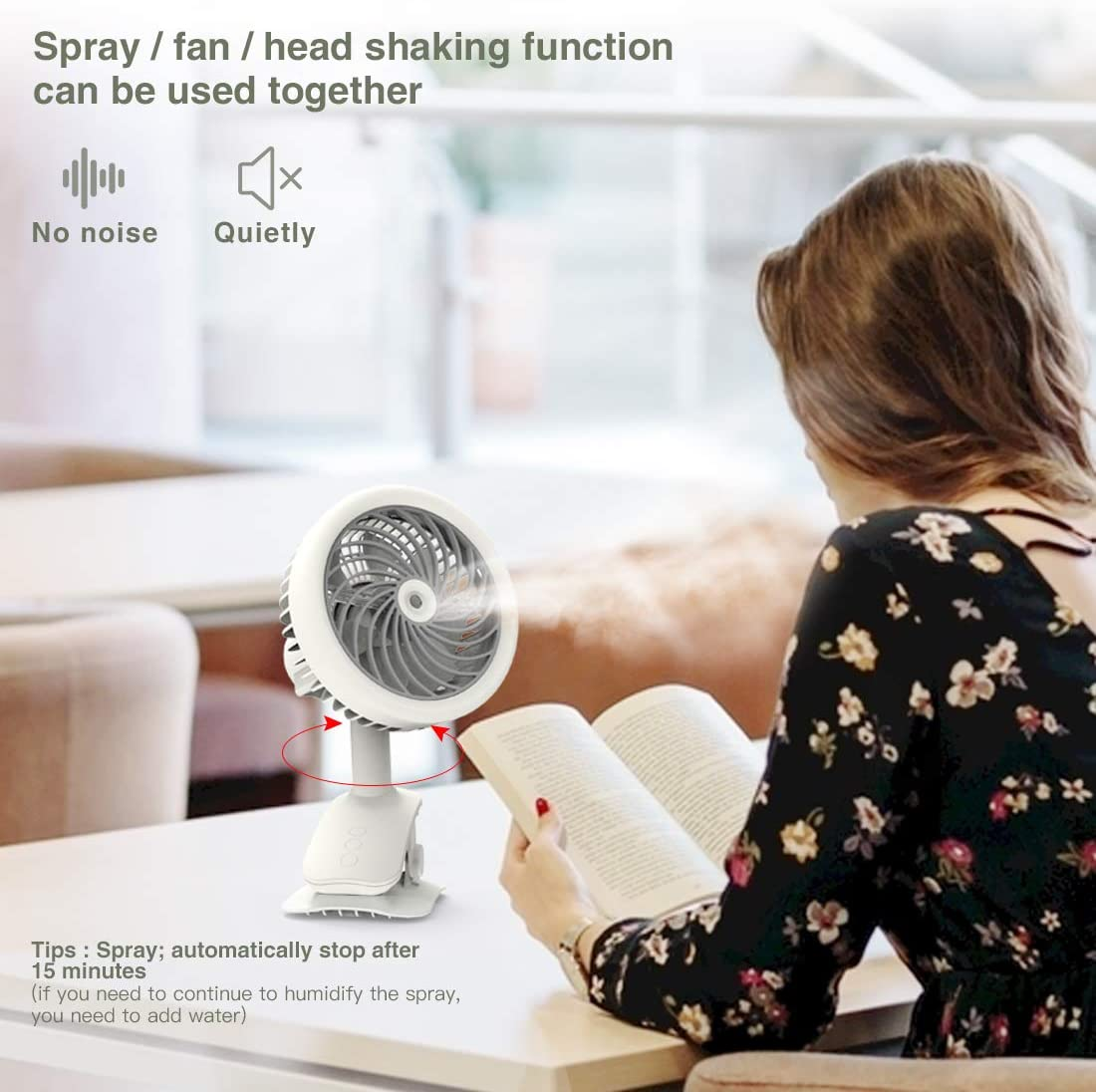 1 marce vento freddo ufficio desktop air cooler fan per casa esterno cucina casa Air cooler umidificatore portatile climatizzatore con 4