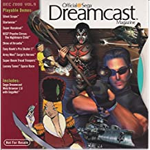 Dreamcast Magazine December 2000 Vol. 9 Demo Disc w/ Playable Demos of Silent Scope, Starlancer, Super Runabout, KISS Psycho Circus, Skies of Arcadia, Tony Hawk's Pro Skater 2, Army Men and more