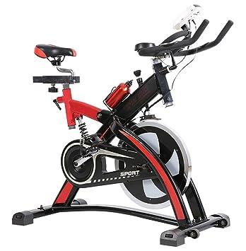 Lcyy-Bike Entrenadores De Bicicleta Resistencia Magnética 13 Kg Volante Cardio Workout con Pantalla Multifuncional