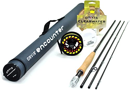 Orvis Encounter 5-Weight 8 6 Fly Rod Outfit 5wt, 8 6 , 4pc