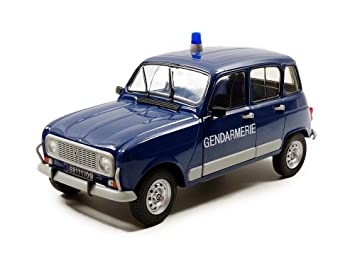 Solido 421183930 - Renault 4L Turbo Gendarmería, vehículos, Escala 1: 18: Amazon.es: Juguetes y juegos