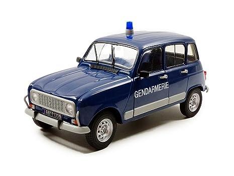 Solido 421183930 – Renault 4L Turbo Gendarmería, vehículos, Escala 1: 18