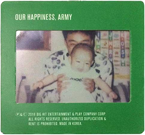 CAR-TOBBY BTS Jungkook 2019 Seasons Greetings Baby Photo Film Photocard Produit Officiel