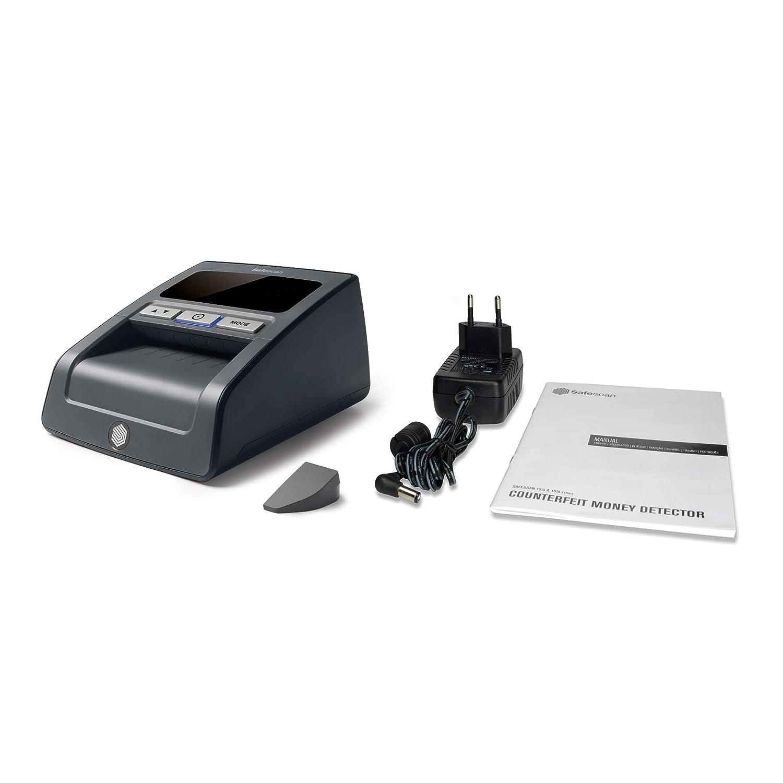 Safescan 185-S - Detector automático de billetes falsos para una verificación 100%, incluyendo el USD: Amazon.es: Oficina y papelería