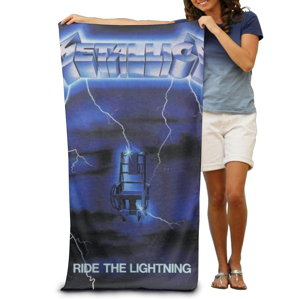 RobertJ.Rivera Unisex Woman Mens Metallica Ride The Lightning Polyester