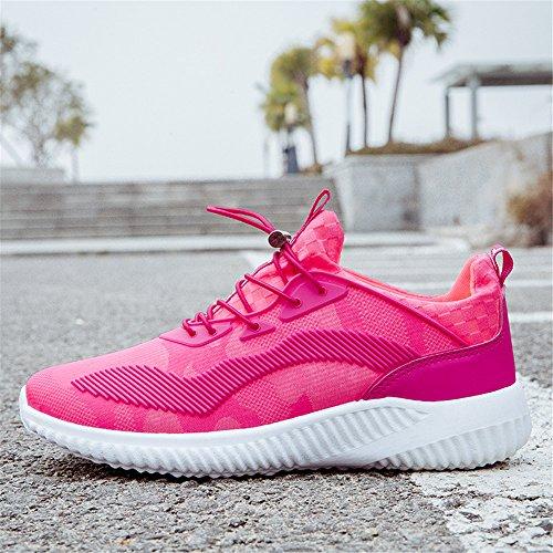 Een Andere Zomer Unisex Paar Sport Casual Ademende Sneakers Roze