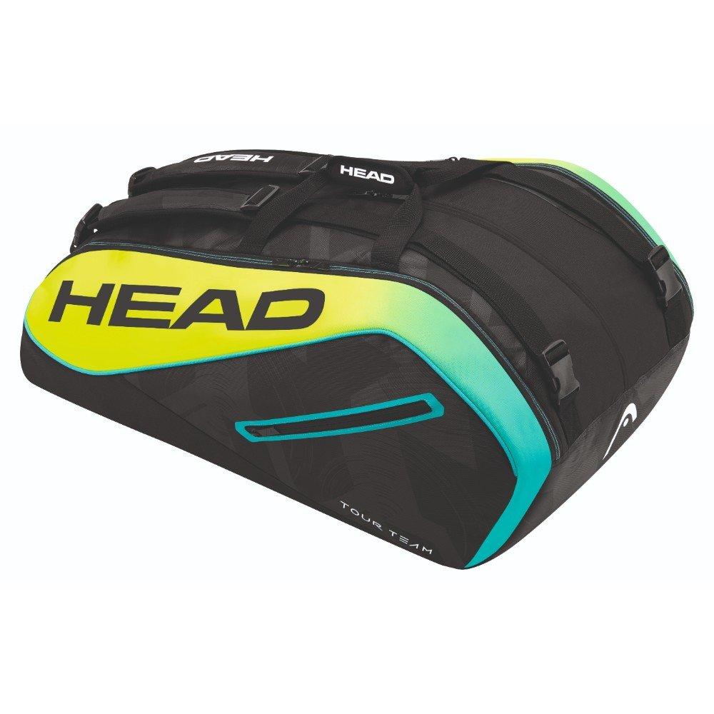 Head Unisex Extreme 12R Monstercombie - Bolsa para Raqueta de Tenis, Color Negro/Amarillo/Azul, Talla única: Amazon.es: Deportes y aire libre