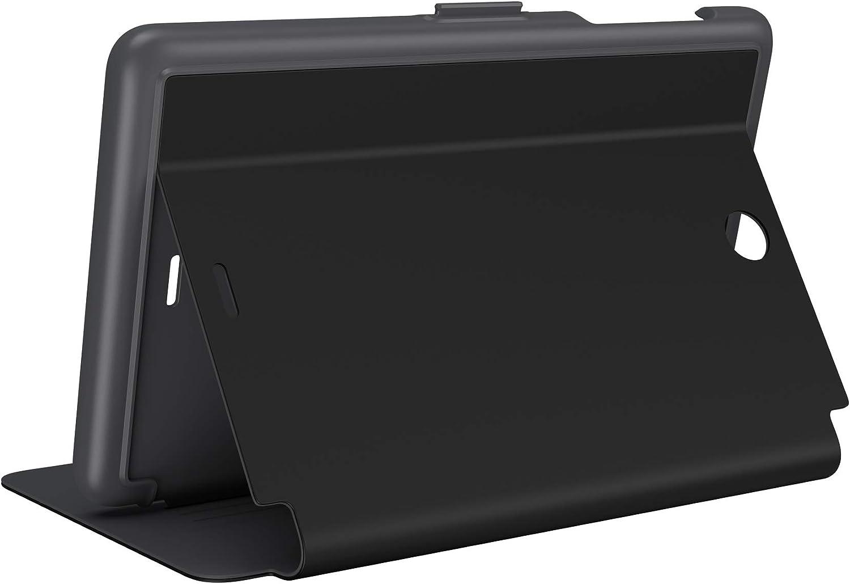 Speck Products StyleFolio Alcatel Joy Tab Case and Stand, Black/Slate Grey (132396-B565)