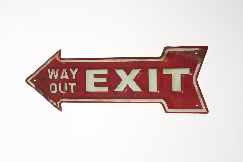 Handle Like a Dog Tin Metal Sign Make Plaque Retro Plate Iron Door Wall Hanging