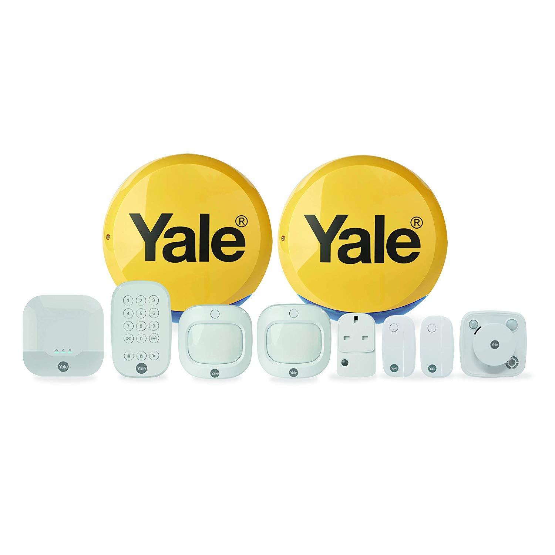 Sensor infrarrojo pasivo Yale AC-3PIR Detector de Movimiento Sensor infrarrojo pasivo , Inal/ámbrico, 12 m, 200 m, Pared, Blanco Sensor de Movimiento PIR Inal/ámbrico Pared Blanco PIR